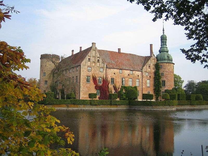 Le château de Vittskövle, en Suède