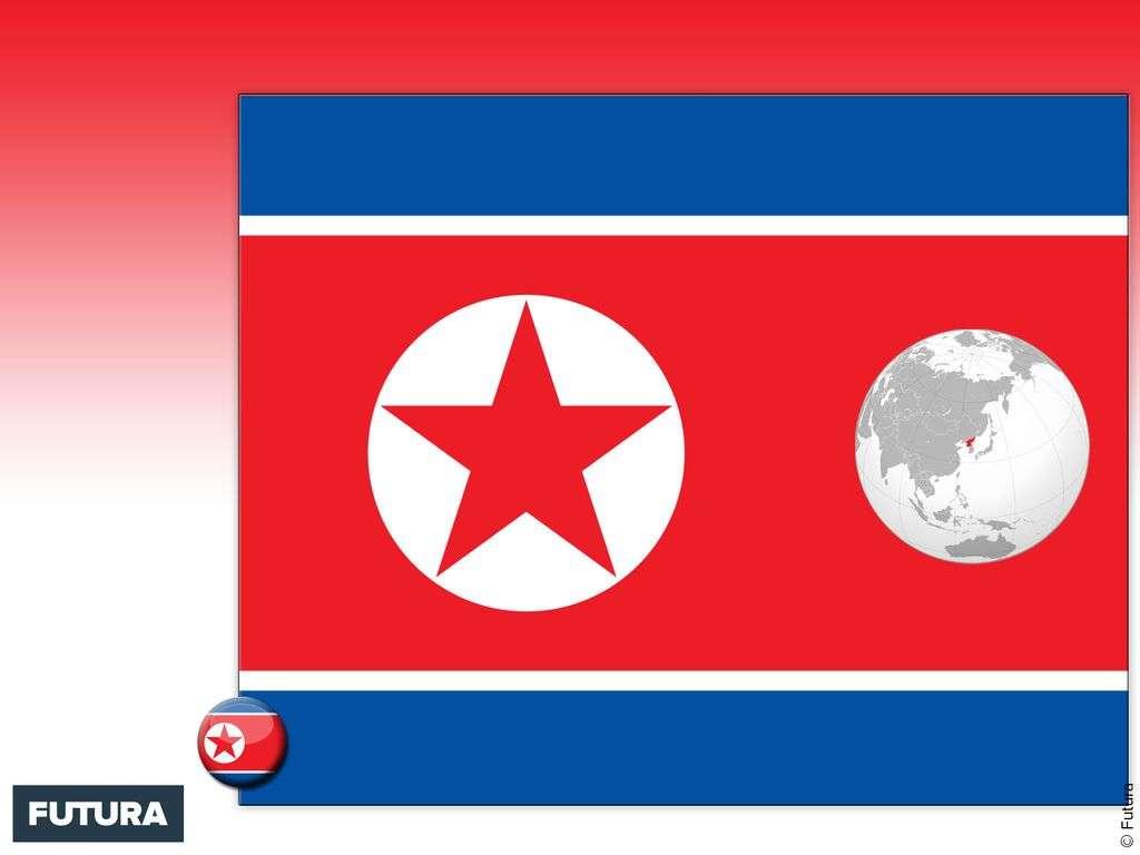 Drapeau : Corée du Nord