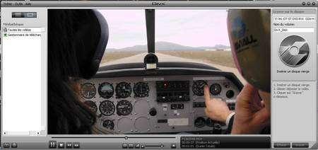 Le lecteur DivX 7 peut désormais lire des vidéos en haute définition... © Futura-Sciences