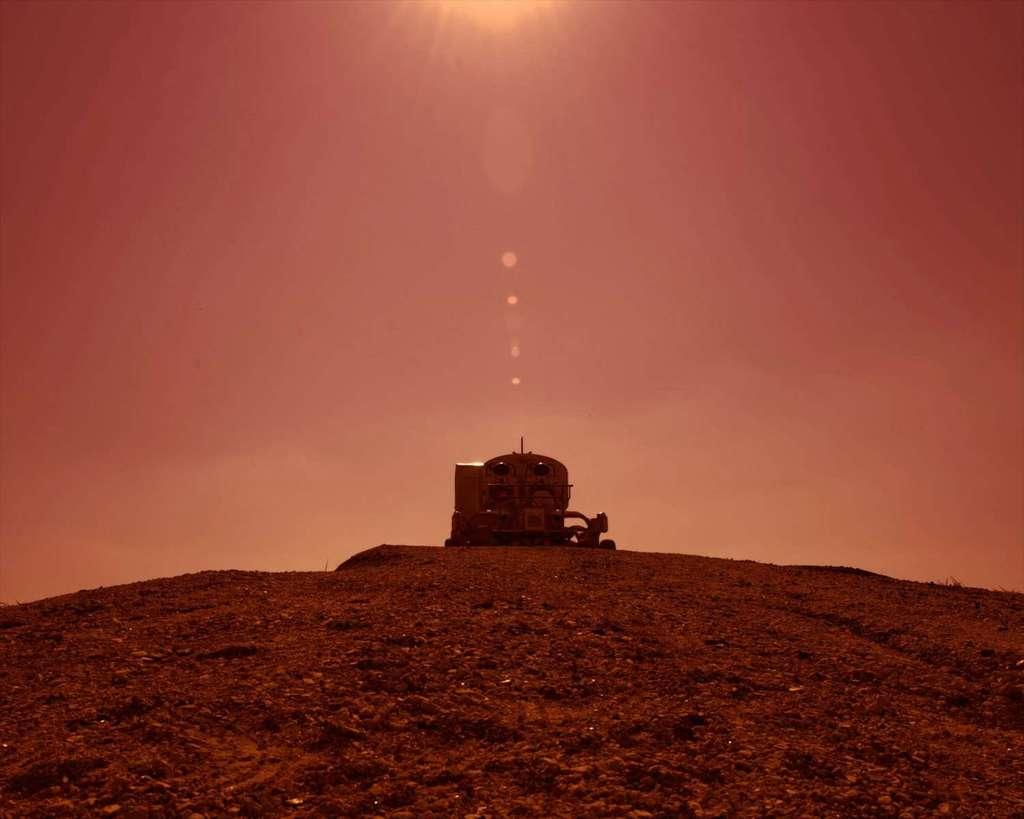 Et si SpaceX soufflait la politesse à la Nasa et débarquait sur Mars avant elle ? © Nasa