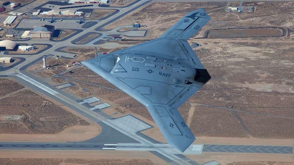 Le X47 B, un drone au pied marin