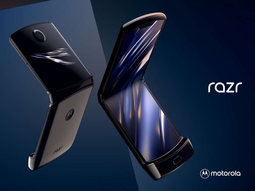 With the Razr, the American manufacturer makes new with old.  © Motorola