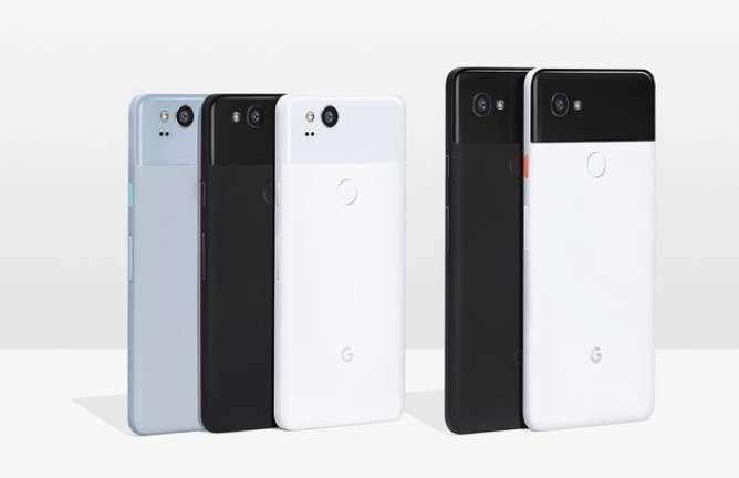Les smartphones Pixel 2 et Pixel 2 XL, de Google, ne seront pas disponibles en France. © Google
