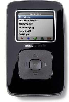 Le lecteur MP3 à connexion WiFi, par MusicGremlin (Crédits : MusicGremlin)