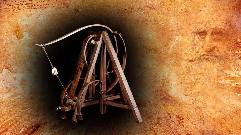 Léonard de Vinci a revisité la catapulte