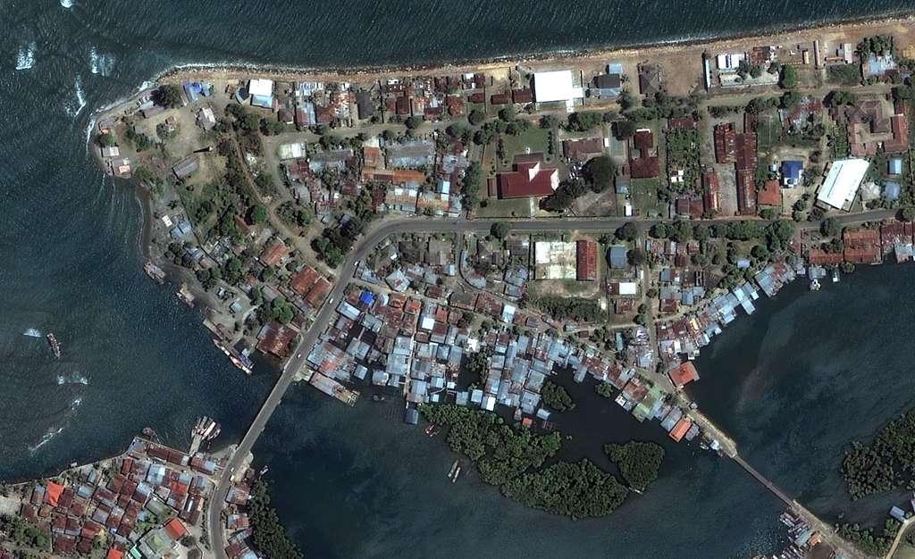 Indonésie : Avant - Port de Banda Aceh