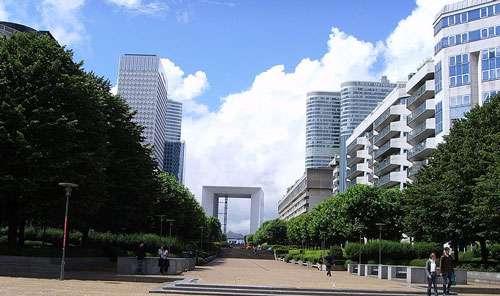 Grande Arche de la Défense, Paris. © Luctor, domaine public