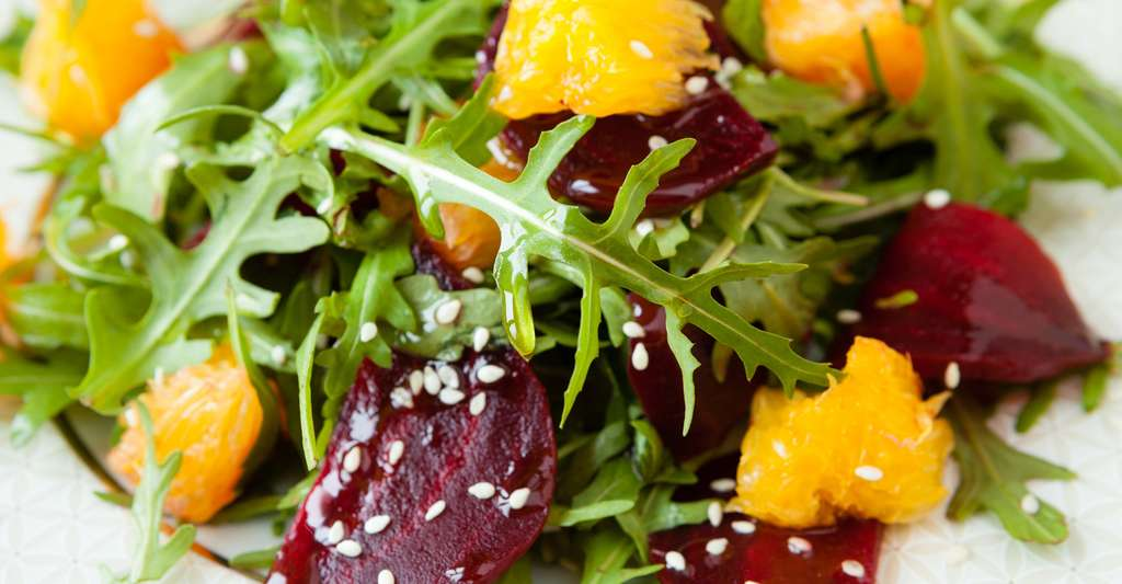 Salade de roquette. © Olha Afanasieva, Shutterstock
