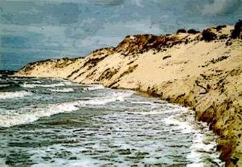 Musoir érodé de la baie d'Authie