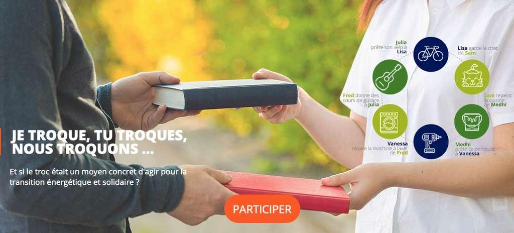 Un temps presque limité aux cours d'école, le troc fait aujourd'hui de plus en plus d'adeptes. Vous êtes de ceux-là? Vous avez des idées pour développer la pratique? Exprimez-vous sur la plate-forme EDF Pulse & You. © EDF Pulse & You
