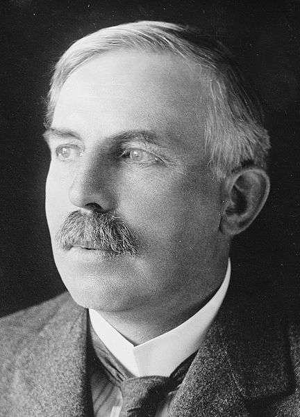Ernest Rutherford, prix Nobel de chimie en 1908, a découvert que l'atome comporte un noyau traversé de puissants champs électriques. © George Grantham Bain, DP