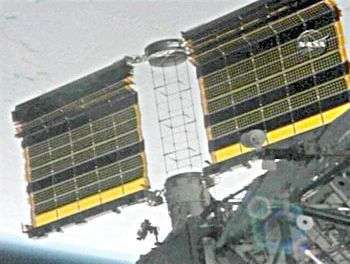 Début du déploiement du nouveau panneau solaire de l'ISS
