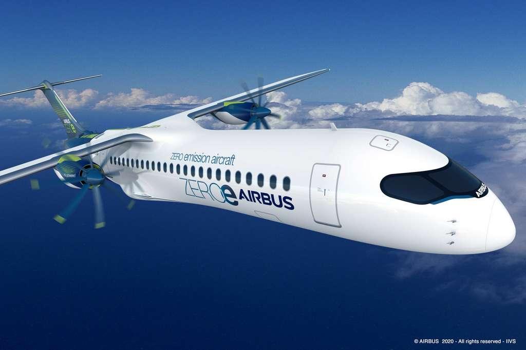 Le deuxième concept : le Turbopropulseur. © Airbus
