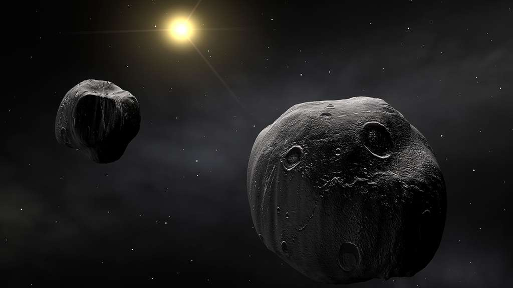 (90) Antiope, l'astéroïde double