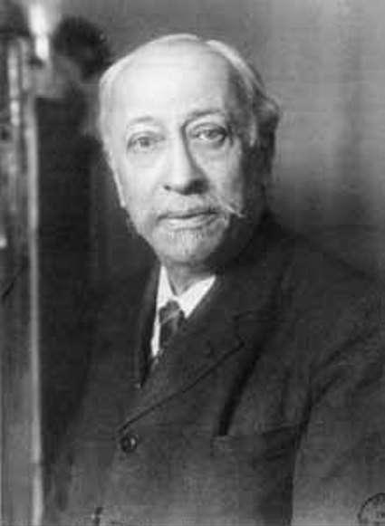 Le découvreur des rayons appelés par la suite gamma par Rutherford, le physicien et chimiste français Paul Villard (1860-1934). © Archives de l'Académie des sciences