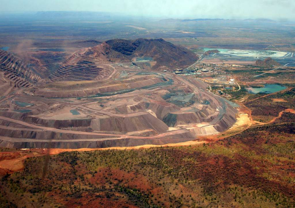 La mine d'Argyle en Australie. © Dan Nelson, Flickr