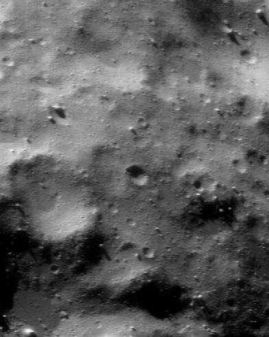 Surface d'Eros 3