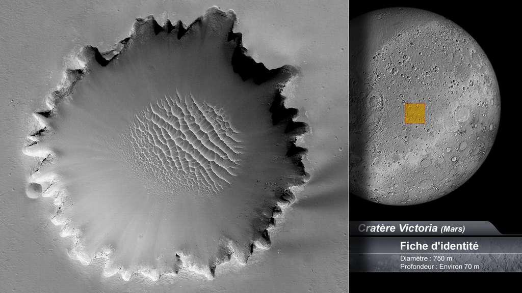 Le cratère Victoria sur Mars