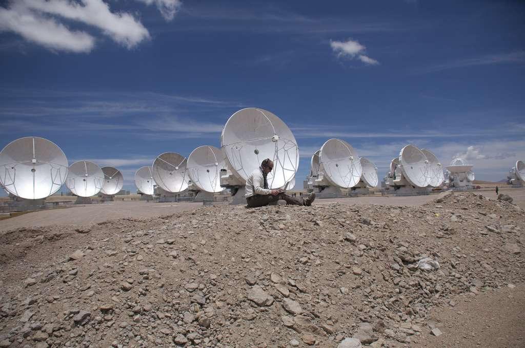 Alma, des antennes pointées vers l'univers