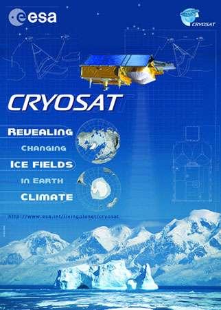 Poster de promotion édité par Cryosat. © DR, reproduction et utilisation interdites