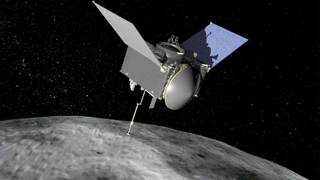 La sonde Osiris-Rex embarque cinq instruments. On compte une caméra, un altimètre laser et trois spectromètres (infrarouge, imageur infrarouge et imageur à rayons X). © Nasa