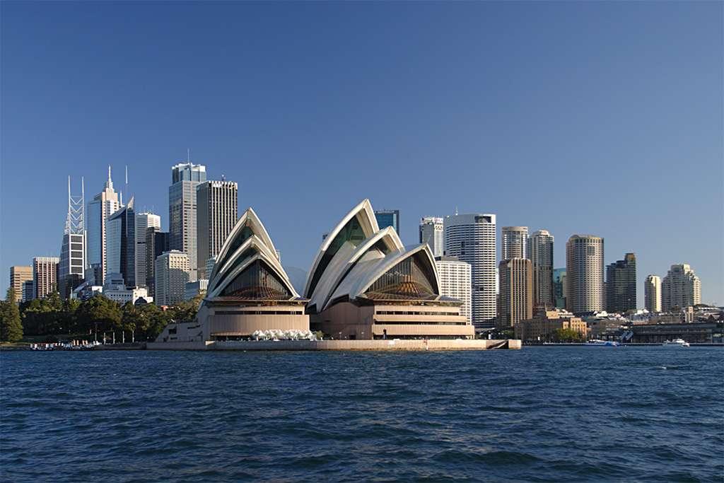 L'opéra de Sydney, en Australie, est la création de l'architecte Jørn Utzon. © Matt Field, CC by-nc 2.0
