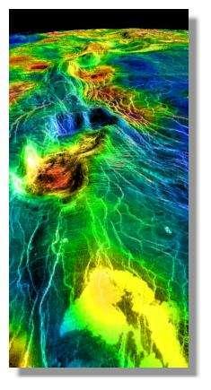 Surface de Vénus © Nasa