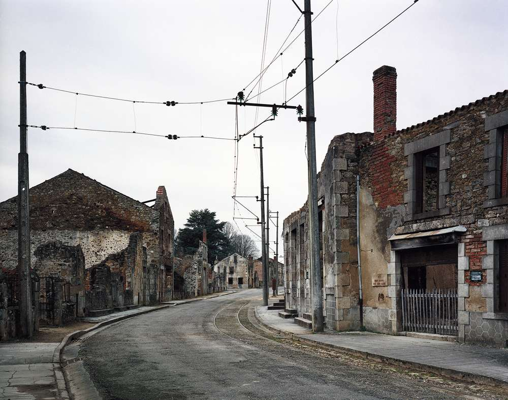 La barbarie nazie est passée par le village d'Oradour-sur-Glane. © Arno Gisinger, Wikimedia Commons, CC by-sa 3.0 de l'image