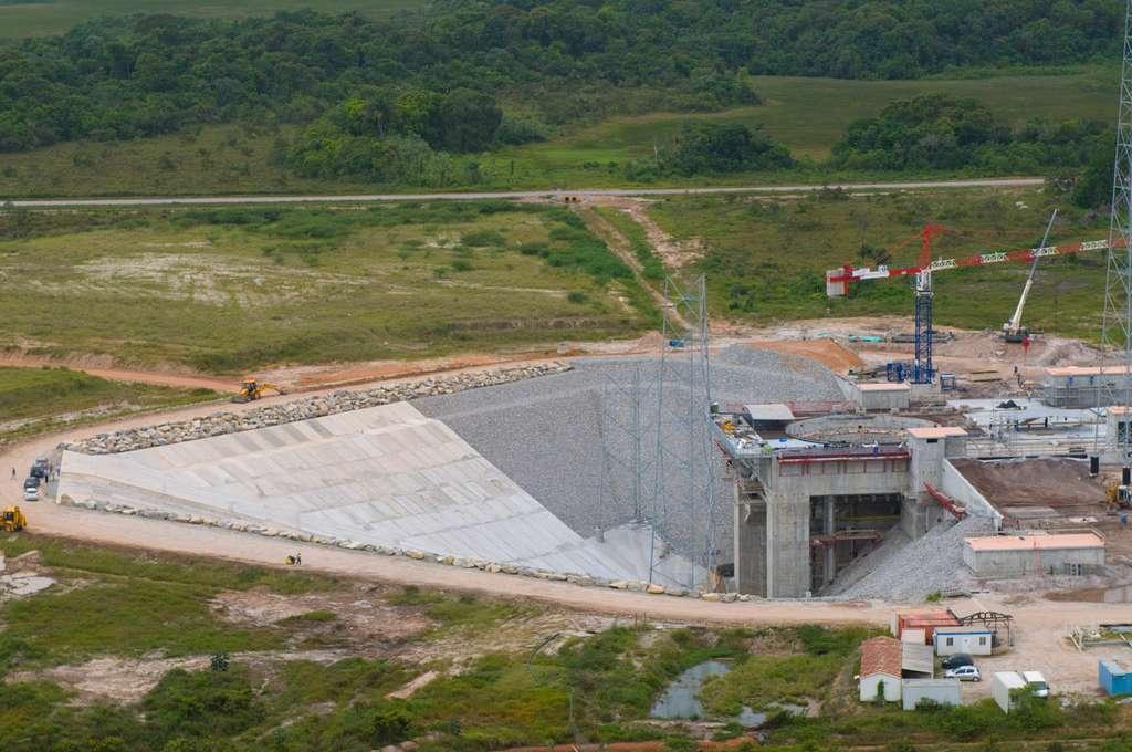Le massif de la Zone de lancement (juin 2008)