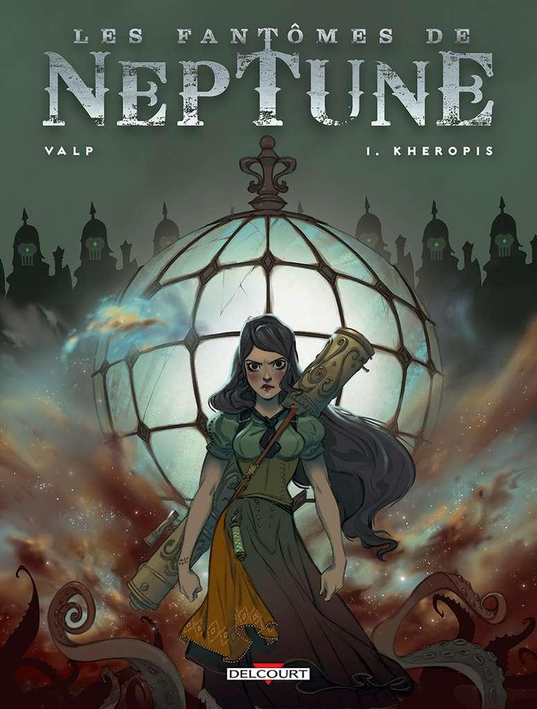 Les Fantômes de Neptune, Tome 1. © Édition Delcourt