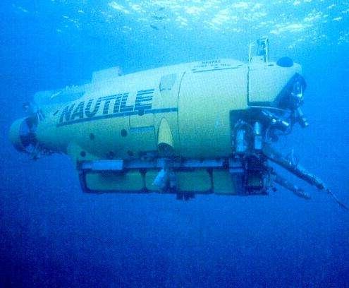Le Nautile, sous-marin de l'Ifremer. © DR