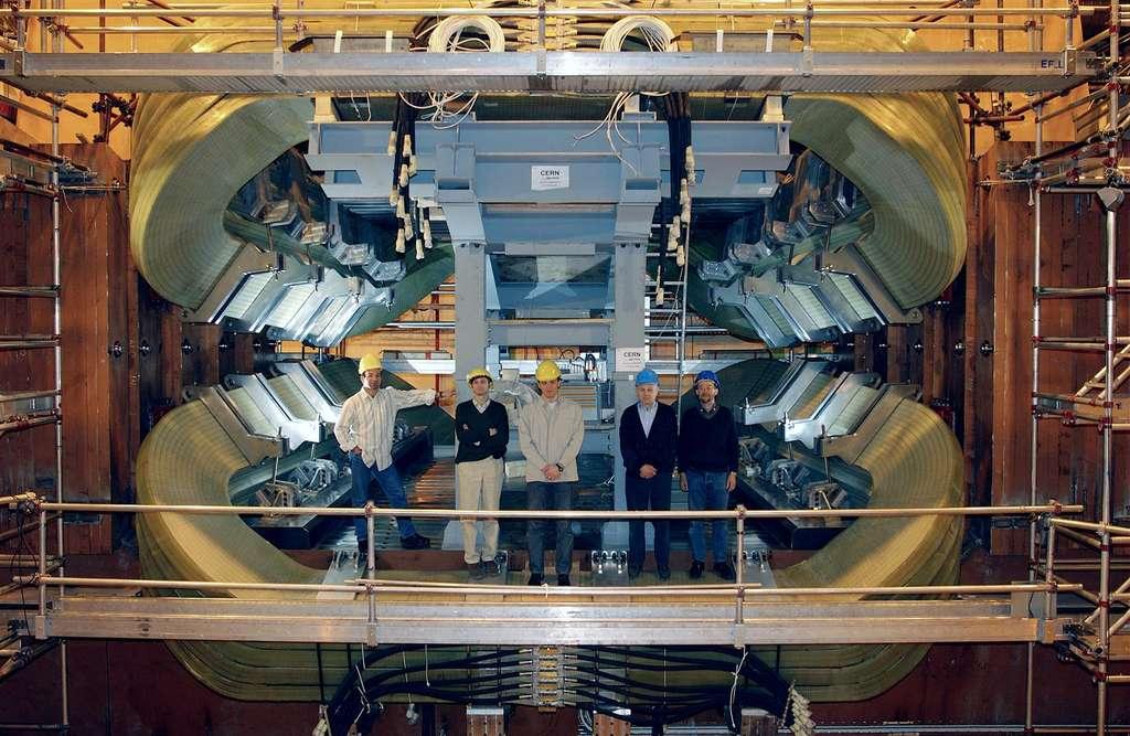Aimants de l'expérience LHCb