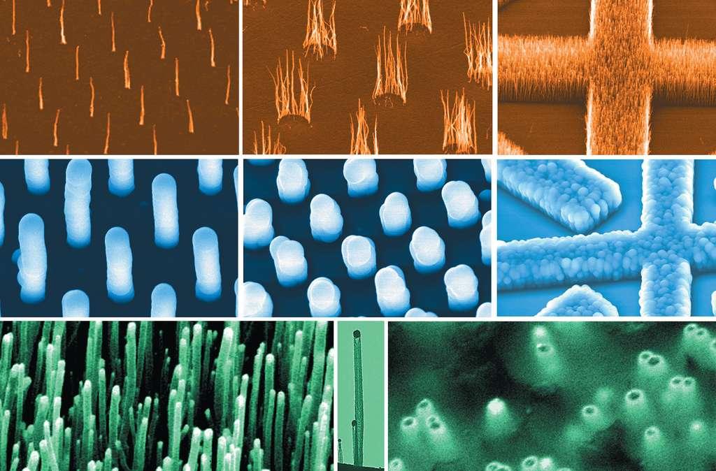 Des nanostructures à base de nanotubes de carbone
