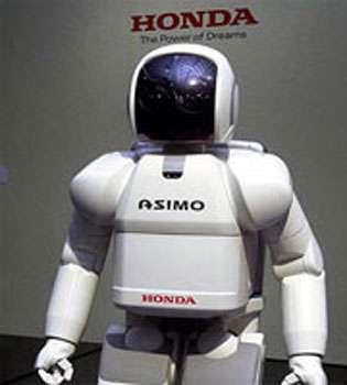 L'humanoïde Asimo. © Honda