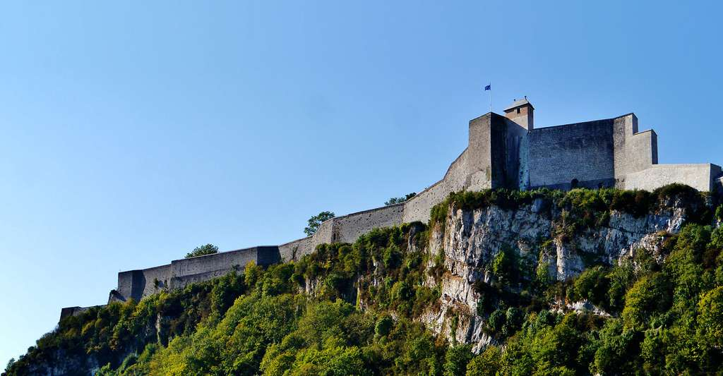 La citadelle de Besancon, France. © Zairon, Wikimedia, CC by-sa 4.0