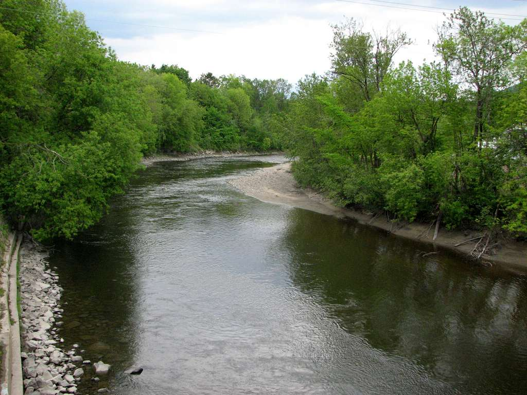 La rivière du Gouffre à Baie-Saint-Paul, au Québec. © Stéphane Batigne, Wikimedia Commons, GNU 1.2