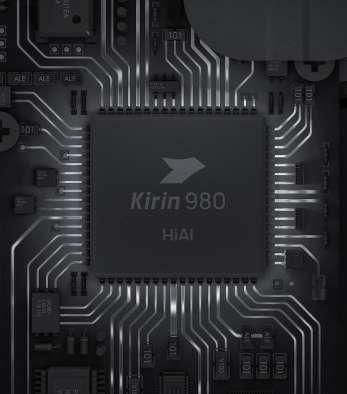 Le Kirin 980 est le processeur maison de Huawei. Il est animé par huit cœurs. Deux de ces cœurs sont dédiés à l'IA. © Huawei