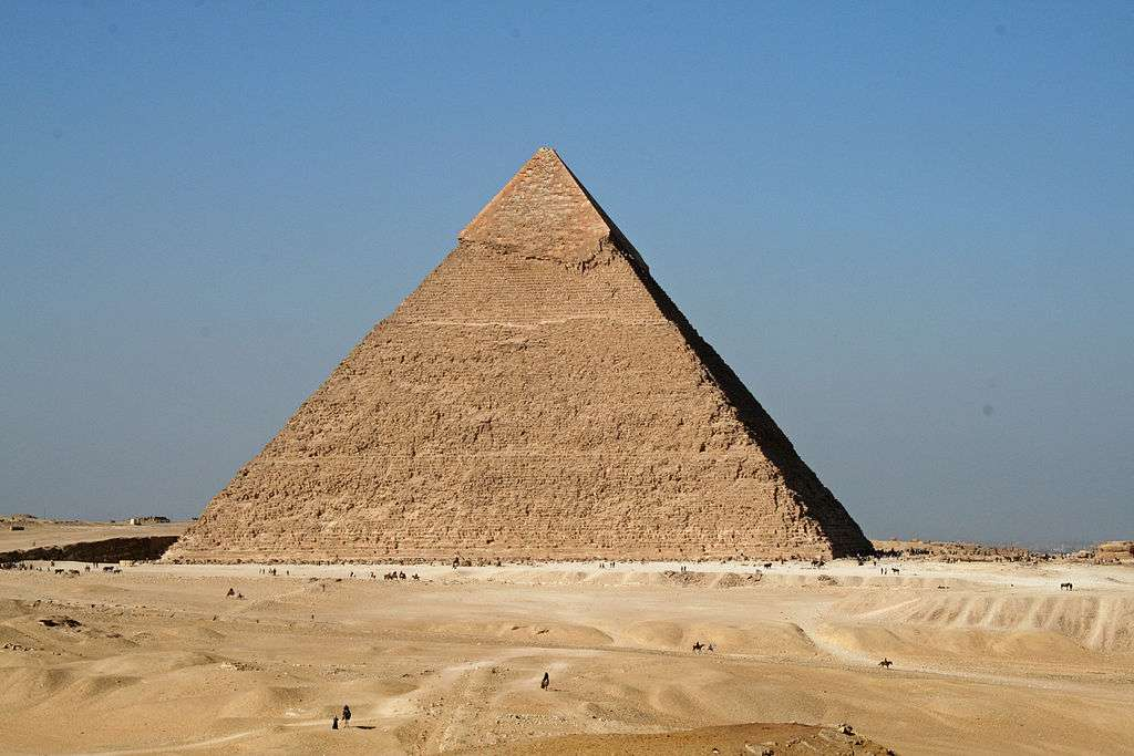 La pyramide de Khéphren, sur le plateau de Gizeh. © Daniel Fafard, DP