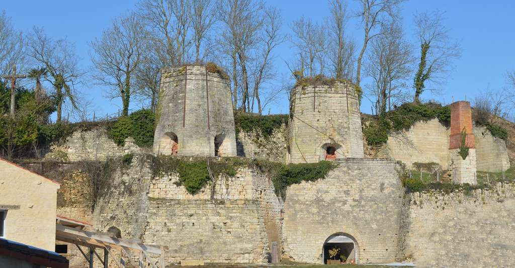 Fours à chaux de Payré (Vendée). © Selbymay, Wikimedia commons, CC by-sa 3.0