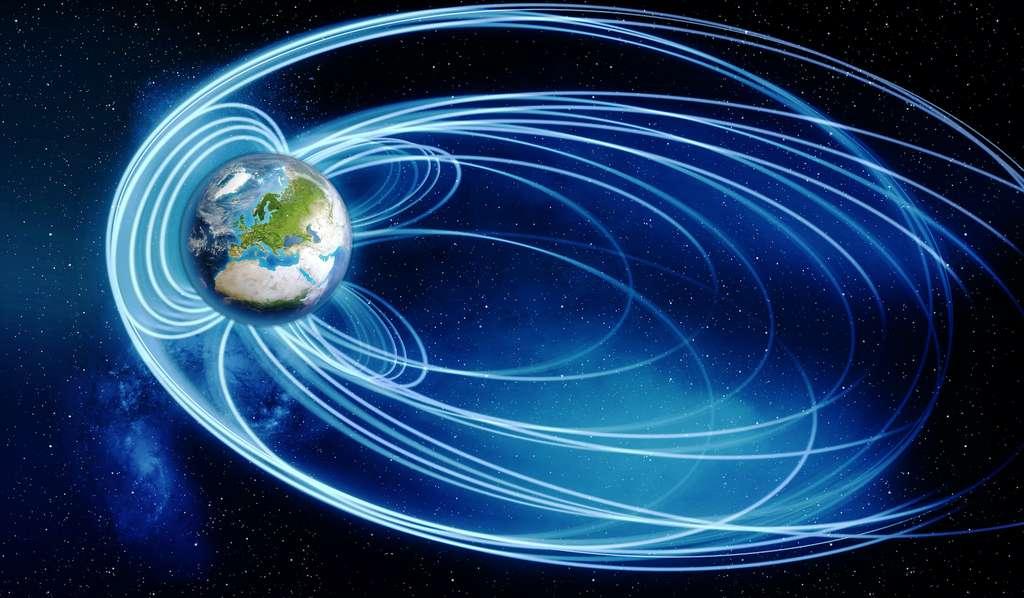 Lorsqu'on évoque la possibilité d'un voyage interstellaire, certains astronomes rappellent qu'au-delà de la magnétosphère de la Terre, les passagers d'un engin à route pour les étoiles seraient soumis à de dangereux flus de particules énergétiques. © brand. punkt, Adobe Stock