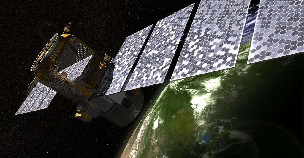 Le satellite Calipso a embarqué un Lidar destiné à étudier le rôle des nuages et des aérosols sur le climat. © NASA, Wikipedia, Public Domain