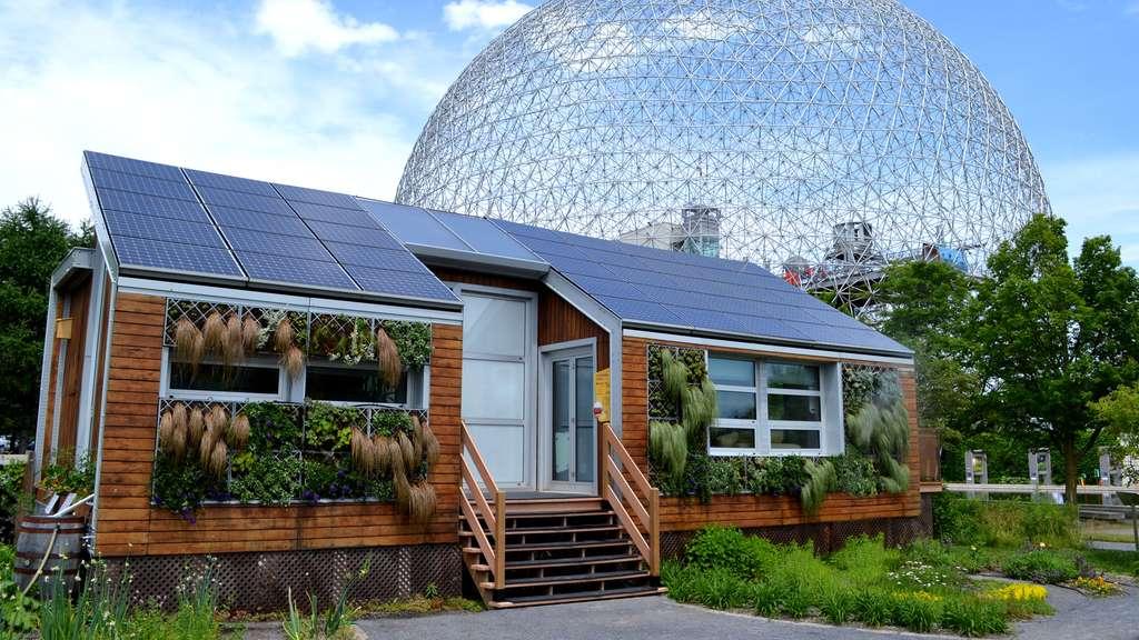 La maison solaire écologique de Montréal
