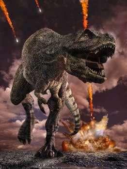 Impact d'astéroïde. © BBC