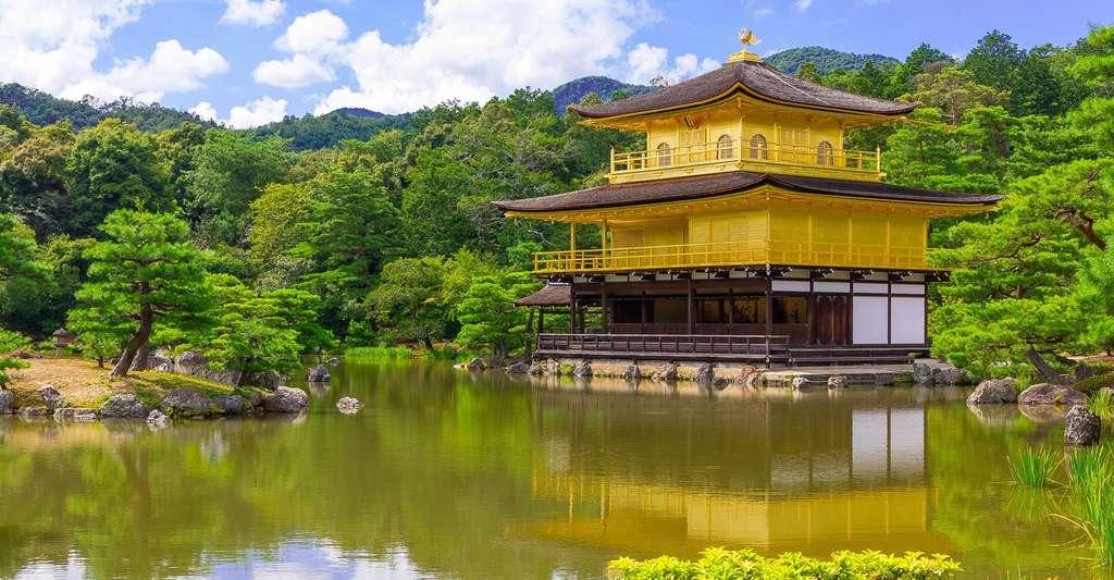 Temple du Pavillon d'or Kinkaku-ji. © Kakidai, CC BY-SA 4.0