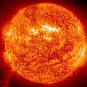Exemple de fusion nucléaire : la combustion des étoiles. © projet.iter.free.fr