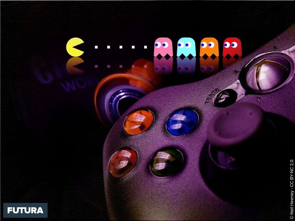 Fond D Ecran Jeu Video Pacman