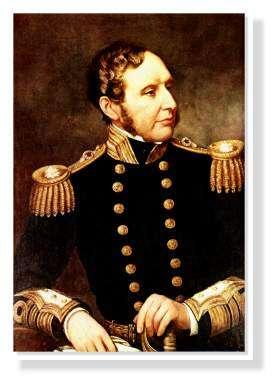 Capitaine du Beagle Fitzroy