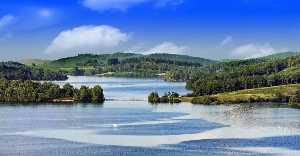 Le lac de Vassivière, dans la Creuse. © BiacheB, CC by-sa 3.0