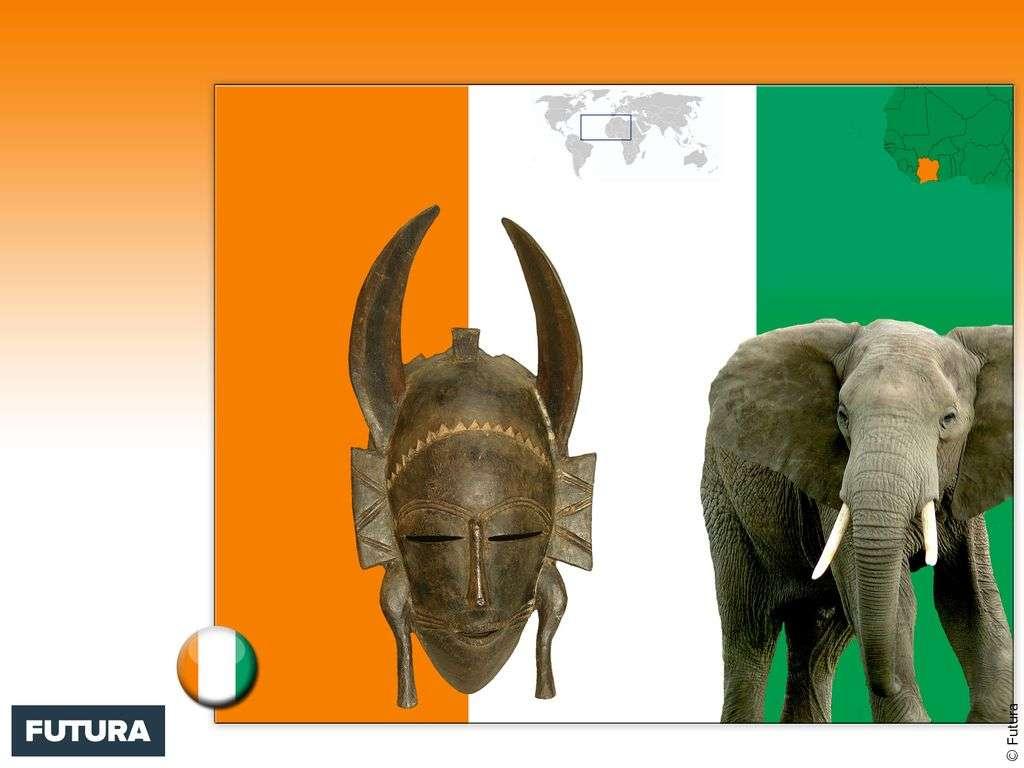 Drapeau : Côte d'Ivoire