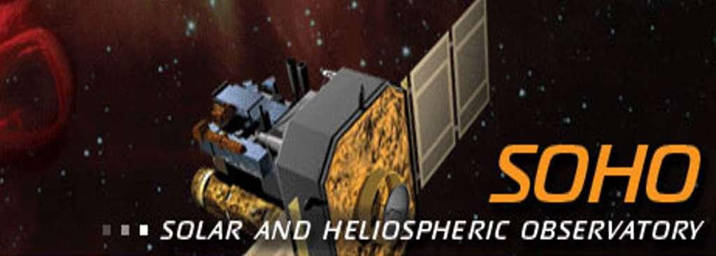 Quels sont les instruments de mesure des vibrations solaires ? Ici, le satellite Soho dans l'espace. © Cnes